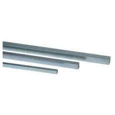 Square Metric Stainless Steel Keystock - 110300950