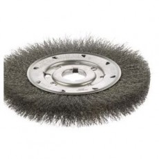 Crimped Wire Narrow Face Wheel Brush - 101439839