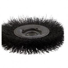 Crimped Wire Narrow Face Wheel Brush - 101439843