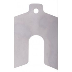 Decimal Series Stainless Steel Slotted Shim - 100848689