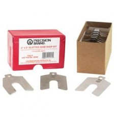Decimal Series Stainless Steel Slotted Shim Kit - 100848676
